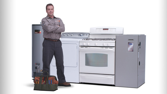 furnace repair, boiler repair, stove range repair, water heater repair