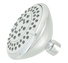 Wide Head Chrome Showerhead