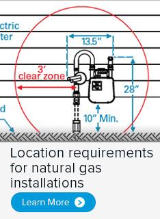centerpoint gas meter request