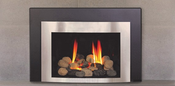 Get a sense of the installation process for converting a fireplace to gas.