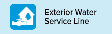 Exterior Water Service Line Repair icon