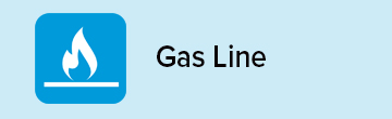 Gas Line Coverage icon