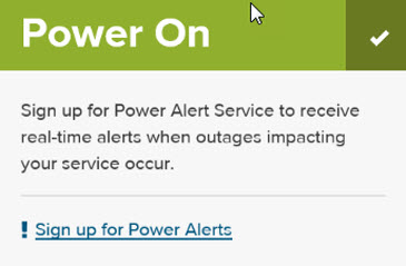 Power On Sample Screenshot