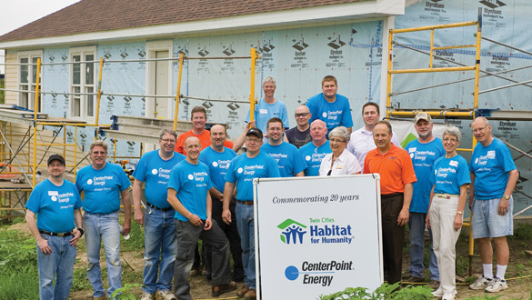 CenterPoint volunteers