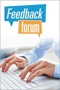 Contribute to the Feedback Forum