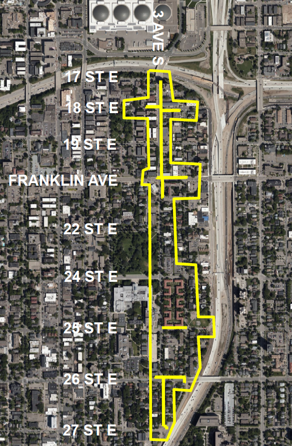 CenterPoint Energy's Map of Mpls 3rd Ave S Mill 91075461.png