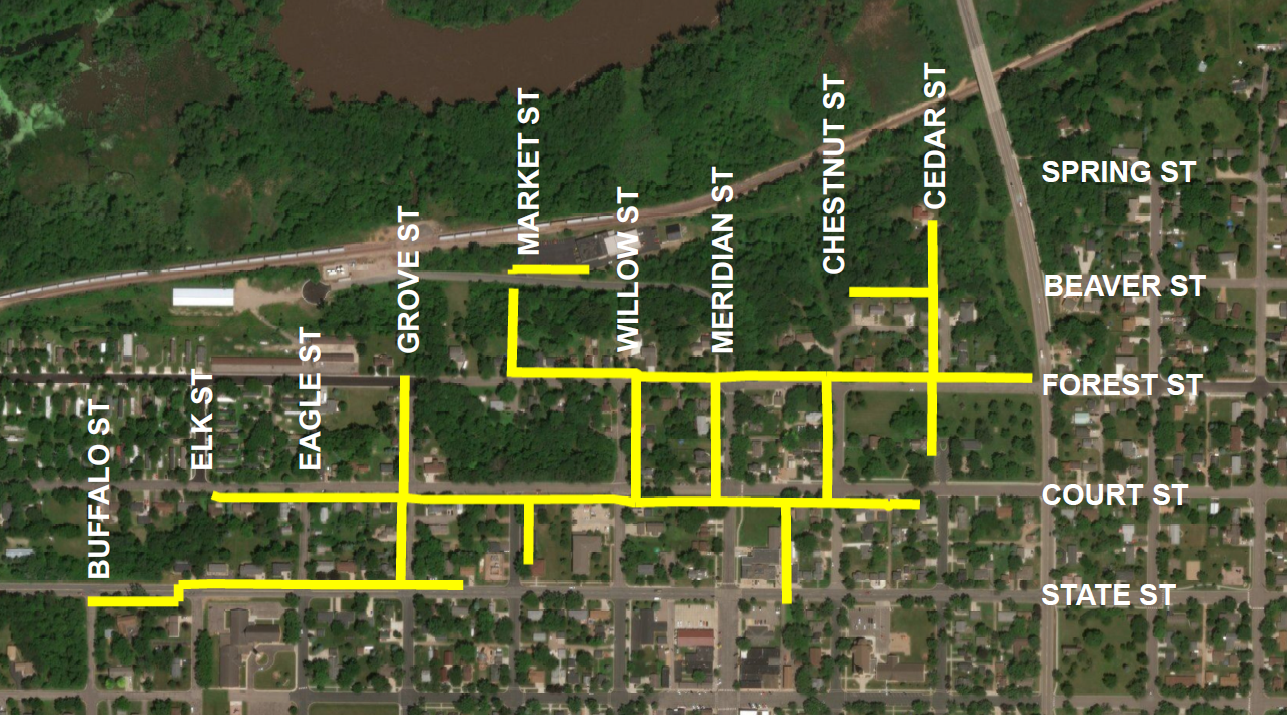 CenterPoint Energy's Map of Belle Plaine 92047464.png